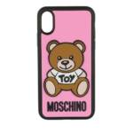 Moschino Smartphone Cases - iPhone Cover Toy X/XS - in rosa - für Damen