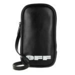 Off-White Smartphone Cases - Logo Iphone Holder - in schwarz - für Damen