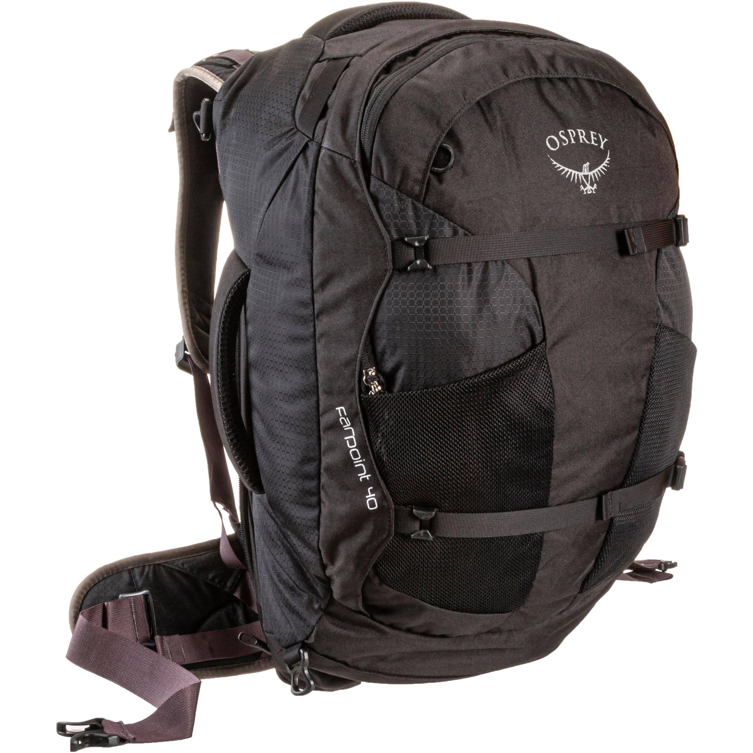 Osprey Farpoint black Reiserucksack