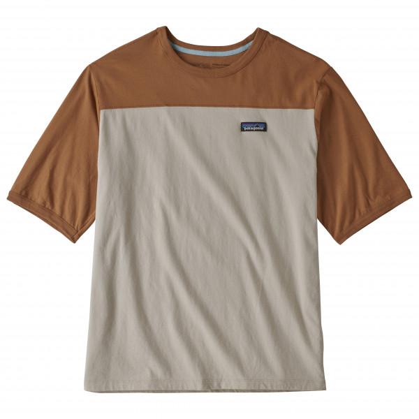 Patagonia - Cotton in Conversion Tee - T-Shirt Gr L grau/braun