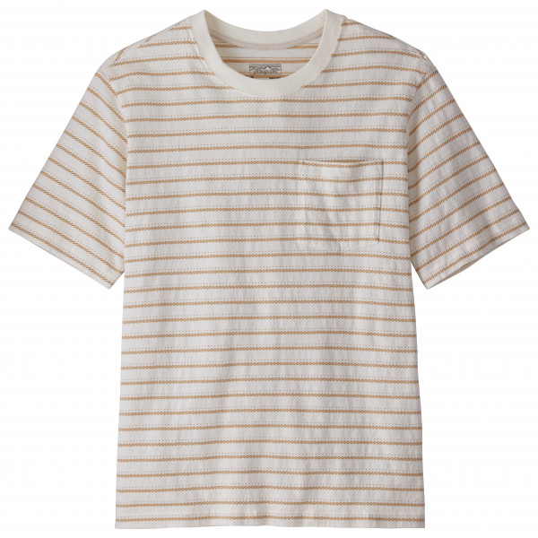 Patagonia - Organic Cotton MW Pocket Tee - T-Shirt Gr L grau/beige