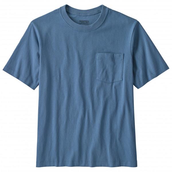 Patagonia - Organic Cotton MW Pocket Tee - T-Shirt Gr S blau