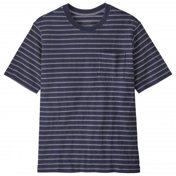 Patagonia - Organic Cotton MW Pocket Tee - T-Shirt Gr S schwarz/grau