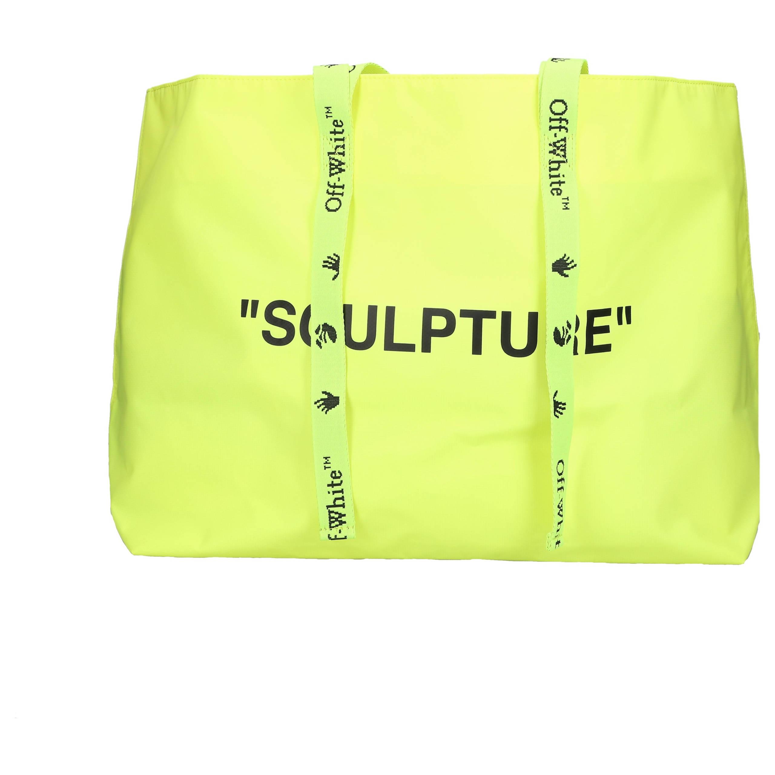 Shopper SCULPTURE BAG Polyamid Pint neon gelb