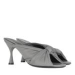 Balenciaga Sandalen & Sandaletten - Drapy Sandal Leather - in schwarz - für Damen