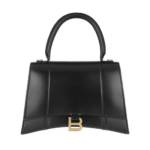 Balenciaga Satchel Bag - Hourglass Medium Satchel Bag Leather - in schwarz - für Damen