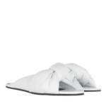 Balenciaga Slipper & Pantoletten - Drapy Sandal - in weiß - für Damen