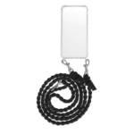 Fashionette Smartphone Cases - Smartphone iPhone 6 Plus Necklace Braided - in schwarz - für Damen