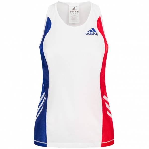 Frankreich adidas Damen Leichtathletik Singlet Top P07505