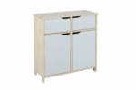 Home affaire Kommode Matheo, mit 2 Türen und 2 Schubladen, Breite 80 cm