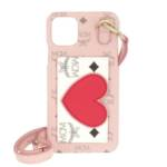 MCM Smartphone Cases - Visetos Iphone 11 Pro Max Case - in pink - für Damen