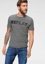 Replay T-Shirt, Markenfrontprint
