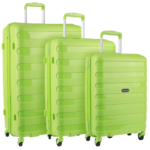 Travelite Nova 4-Rollen Trolley Set 3-teilig Grün