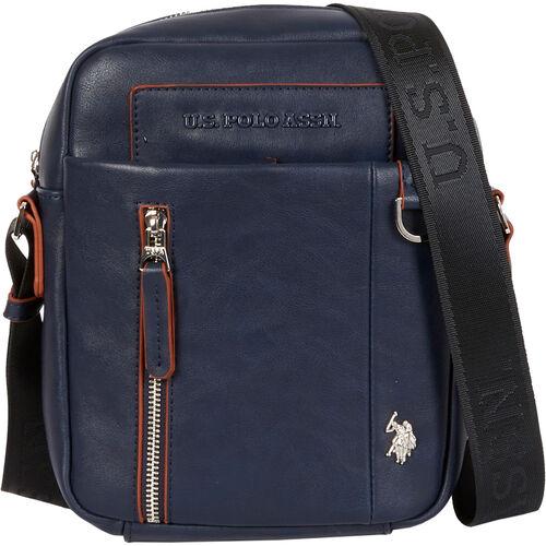 """U.S. Polo Assn. Schultertasche """"Cambridge"""", Logo, für Herren, navy"""