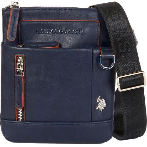 """U.S. Polo Assn. Schultertasche """"Cambridge XS"""", Logo, für Herren, navy"""