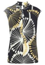 select By Hermann Lange Print-Shirt, mit leicht überschnittenen Schultern