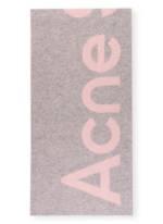 Acne Studios Schal Toronty rosa