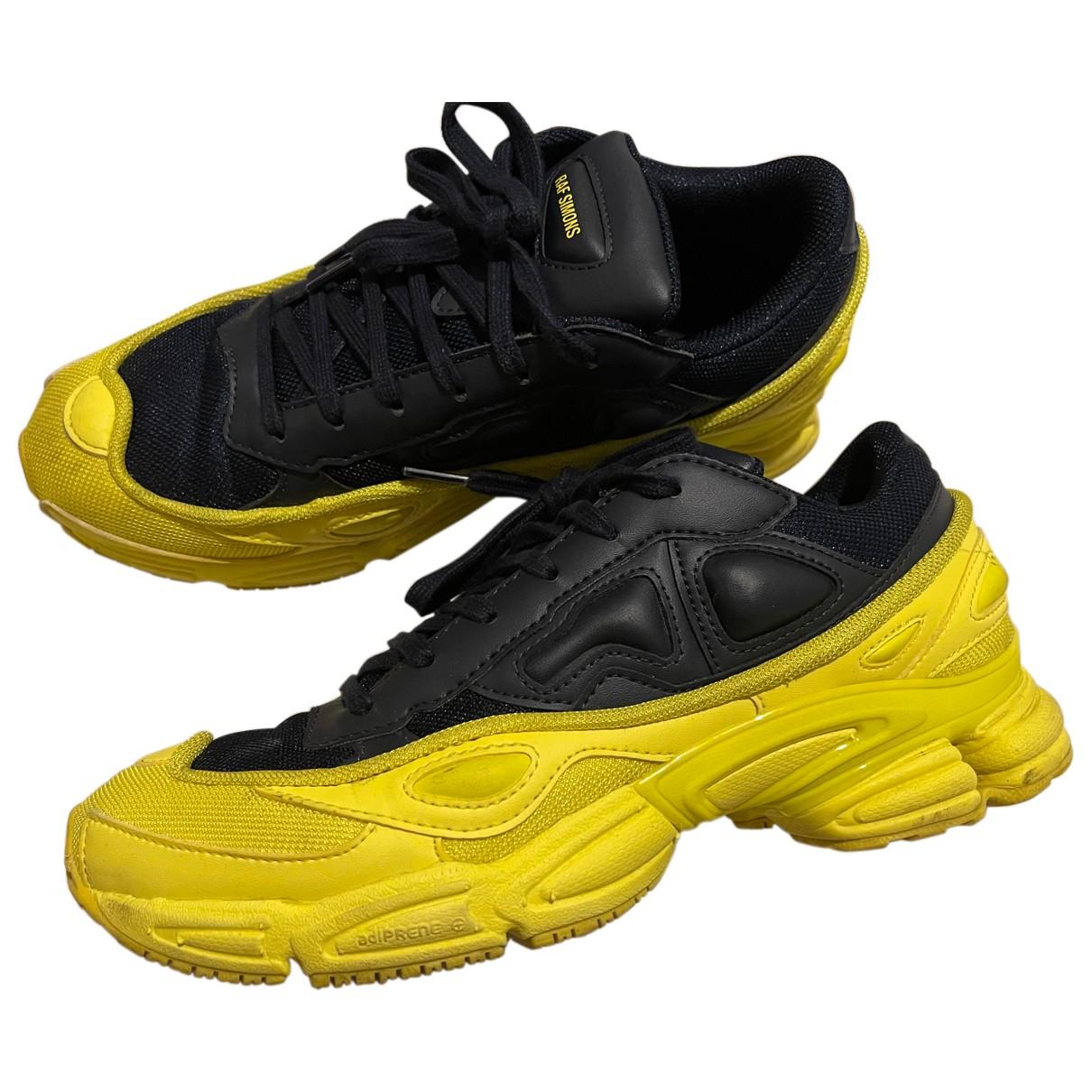 Adidas X Raf Simons Ozweego 2 Yellow Cloth Trainers for Men 41 EU