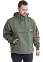 Alpha Industries - TT Anorak LW Sage Green - Jacken