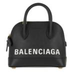 Balenciaga Crossbody Bags - Ville Quilted Top Handle Bag XXS Leather - in schwarz - für Damen