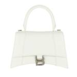 Balenciaga Satchel Bag - Hourglass Small Handle Bag - in weiß - für Damen