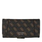 Guess Clutches - Naya File Wallet - in braun - für Damen
