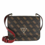 Guess Crossbody Bags - Noelle Mini Crossbody Flap - in braun - für Damen