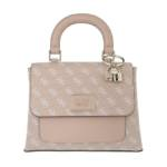 Guess Satchel Bag - Tyren Top Flap Handle Bag - in rosa - für Damen