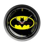 Logoshirt Wanduhr Batman - Logo, schwarz