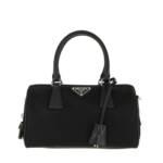 Prada Bowling Bag - Boston Sling Top Handle Bag - in schwarz - für Damen