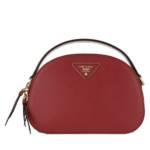 Prada Crossbody Bags - Odette Shoulder Bag Leather - in rot - für Damen
