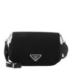 Prada Crossbody Bags - Small Crossbody Leather - in schwarz - für Damen