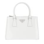 Prada Shopper - Galleria Shopping Bag Leather - in weiß - für Damen