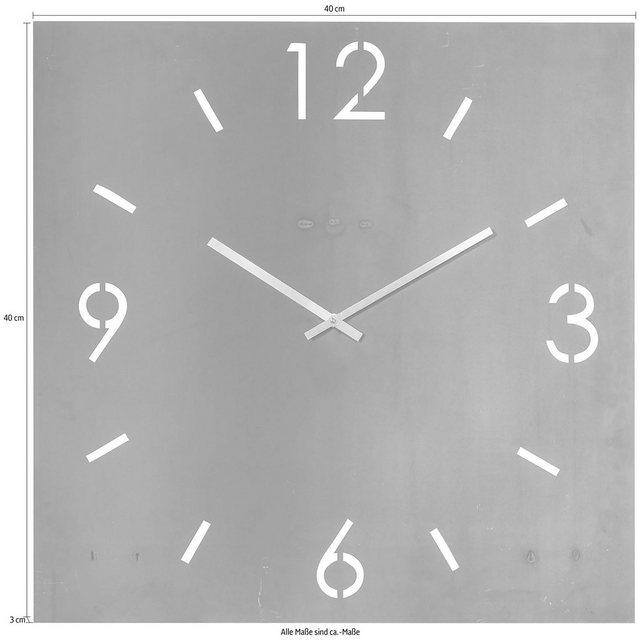 """Spinder Design Wanduhr """"Time"""" (Breite 40 cm)"""