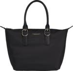 TOMMY HILFIGER Shopper RECYCLED NYLON TOTE, mit goldfarbenen Details
