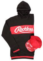 Young and Reckless Square Logo Griffon Cap + Opulent Hoodie - Bundles für Herren - Schwarz