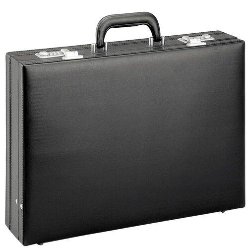 d & n D&N Tradition Business Aktenkoffer PU 44 cm erw., schwarz