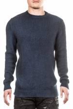 AVANT TOI Herren Kaschmir-Mix Pullover blau
