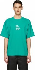 Acne Studios Blue Dizonord Edition 'Coral Infantil' T-Shirt