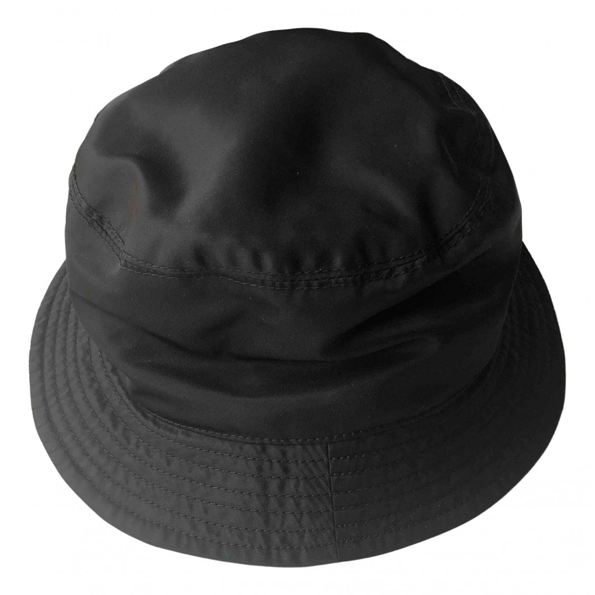 Acne Studios black Cloth Hats
