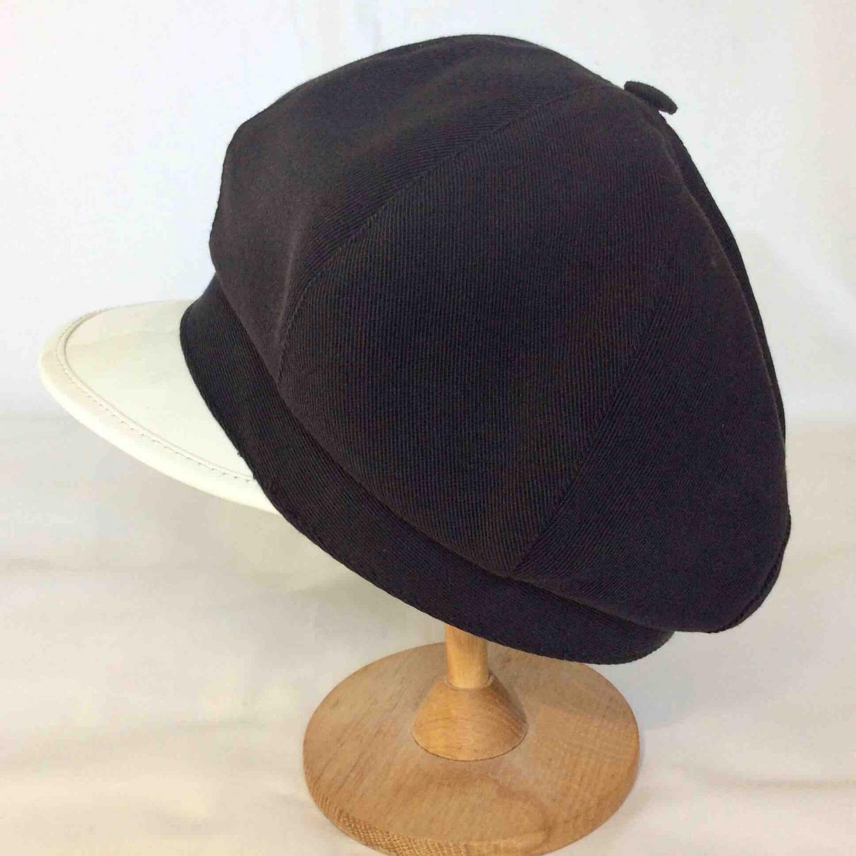 Acne Studios black Cotton Hats