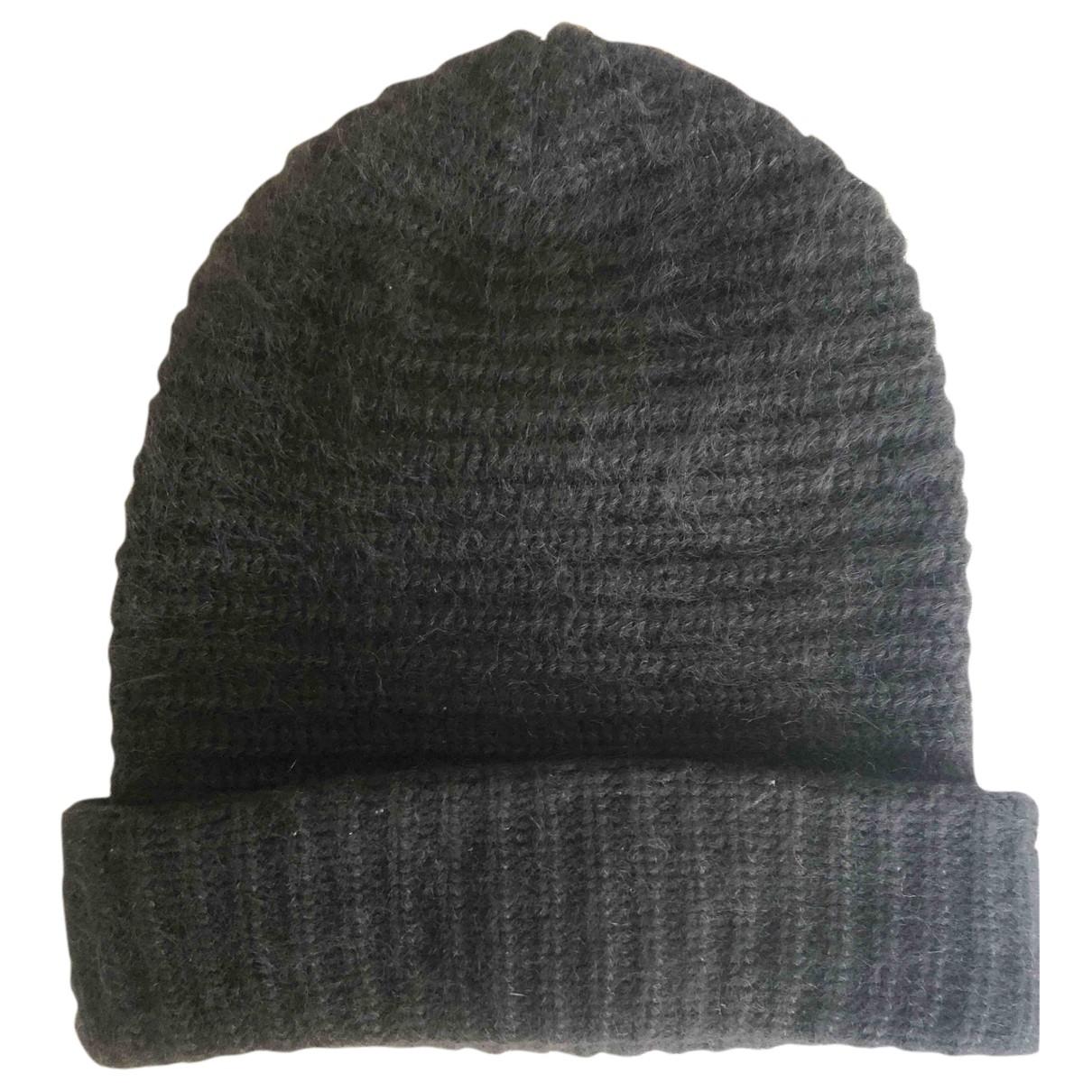 Acne Studios black Wool Hats