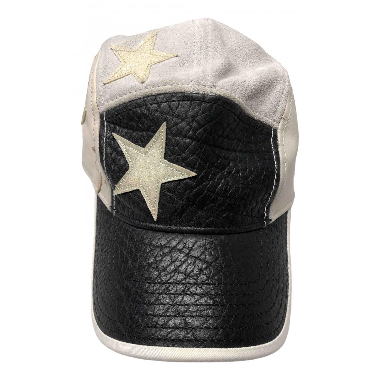 Acne Studios grey Leather Hats