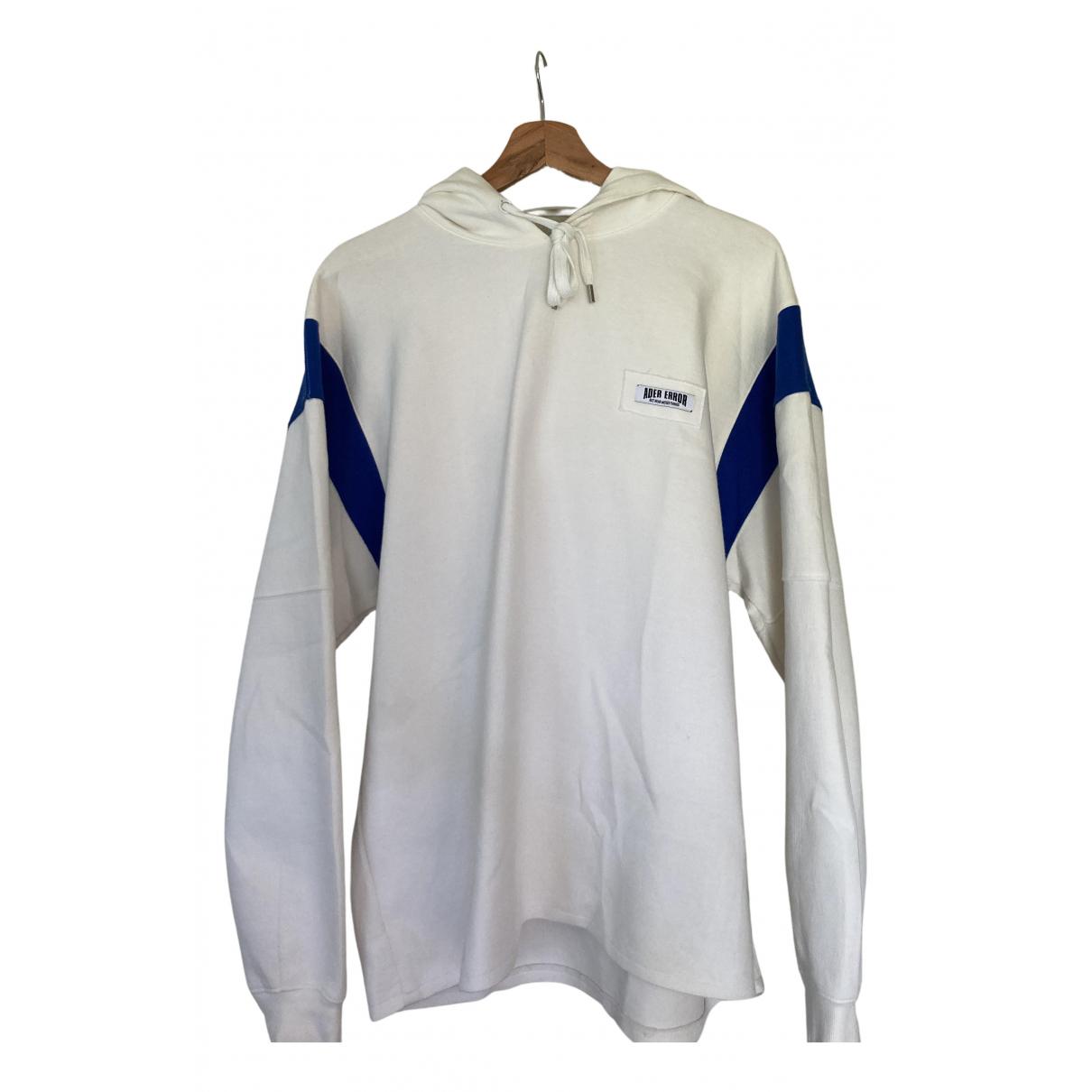 Ader Error blue Cotton Knitwear & Sweatshirts