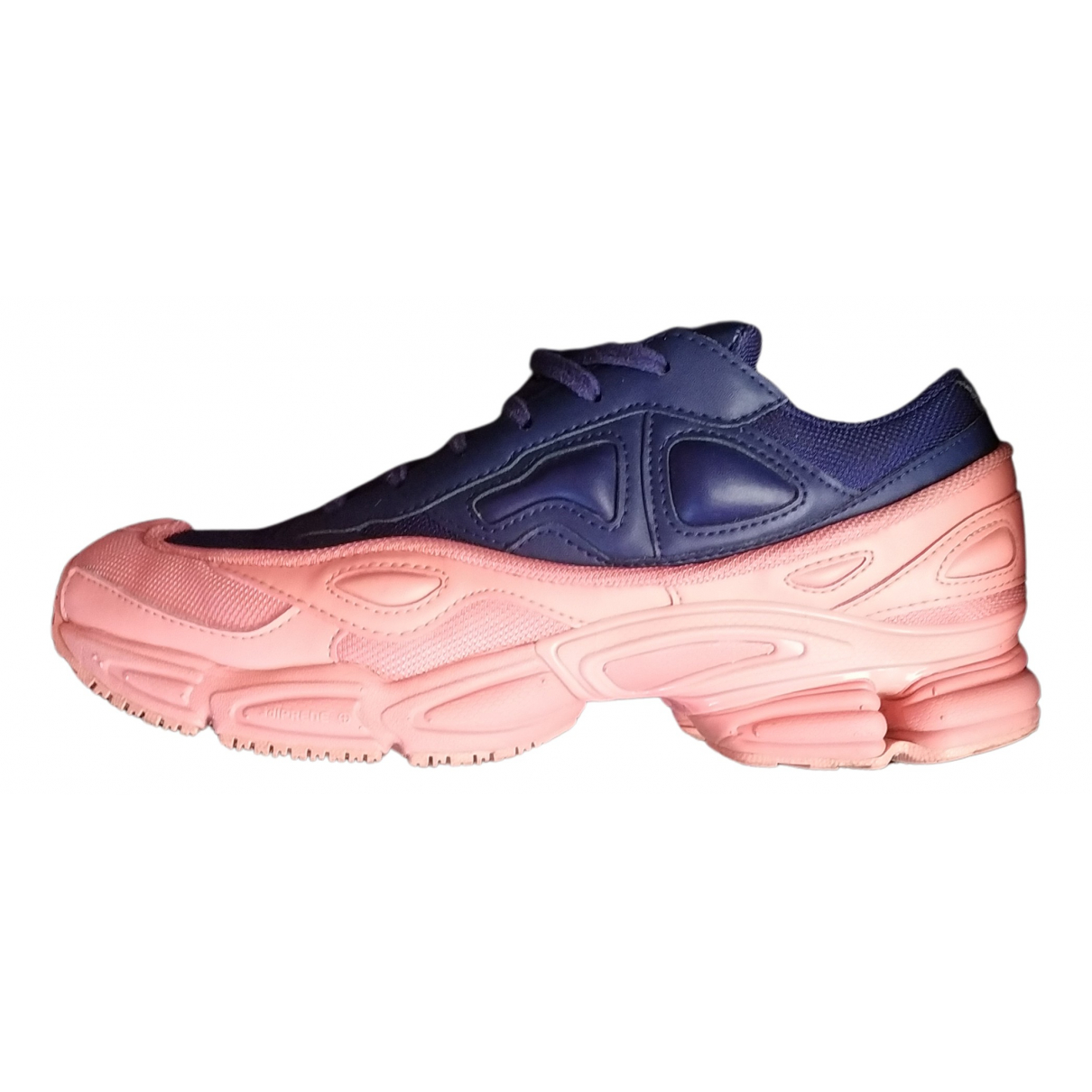 Adidas X Raf Simons Ozweego 2 Blue Leather Trainers for Women 7 UK