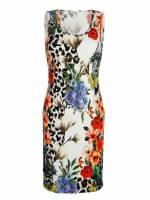 Alba Moda Strandkleid aus elastischer Rippware