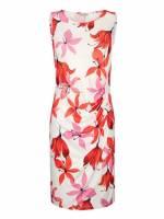Alba Moda Strandkleid mit Blütendruck