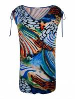 Alba Moda Strandkleid mit Raffungen
