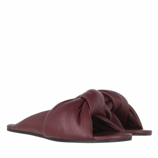 Balenciaga Slipper & Pantoletten - Drapy Sandal - in rot - für Damen