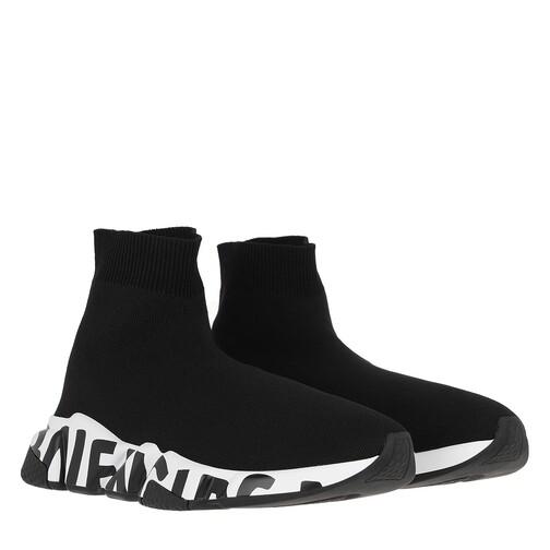 Balenciaga Sneakers - Speed Logo Sneakers - in schwarz - für Damen